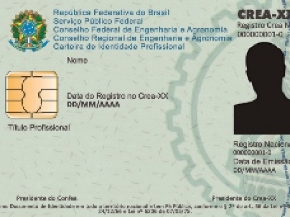 Novas carteiras profissionais do Sistema Confea/Crea e Mútua
