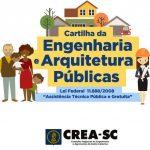 Accesse a Cartilha, clicando aqui: http://www.crea-sc.org.br/portal/arquivosSGC/CARTILHA_FINAL%20divulg.pdf