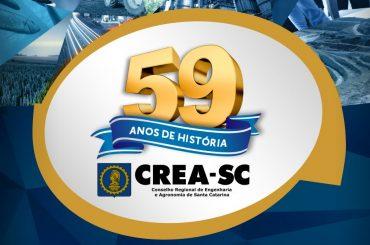 CREA-SC: 59 anos de história