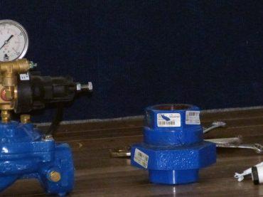 Fotos do workshop sobre controle de pressão em edifícios elevados