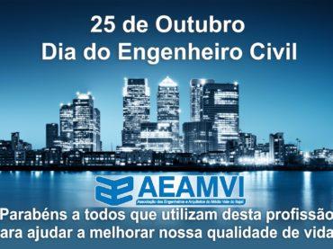 Parabéns aos Engenheiros Civis!
