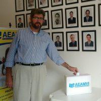Eleição na Associação dos Engenheiros e Arquitetos do Médio Vale do Itajaí (AEAMVI)