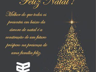 Um Feliz e Abençoado Natal para todos e um 2019 com muitos projetos concretizados