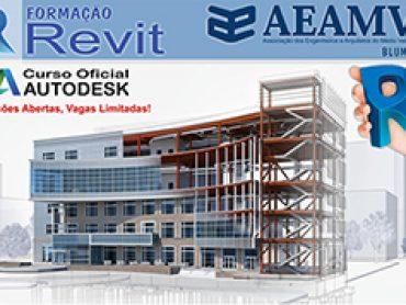 AEAMVI promove curso de Autodesk – Revit