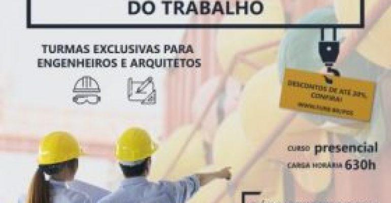 Furb abre inscrições de pós-graduação em engenharia de segurança do trabalho