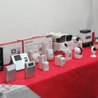 Palestra sobre segurança eletrônica e controles de acesso na última Festiva do ano