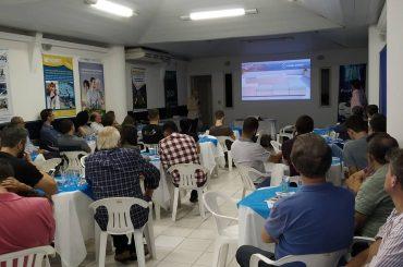 Festiva de março com palestra sobre automação e revestimento de piscinas