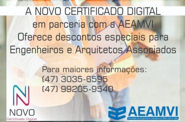 Parceria AEAMVI: faça seu Certificado Digital com desconto especial!